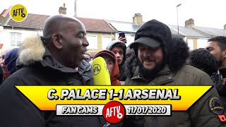 Crystal Palace 1-1 Arsenal | Maitland-Niles Dealt With Zaha! (DT)  DONT MISS OUT ON 15% OFF ALL ITEMS IN OUR JANUARY SALES : http://goo.gl/rin8oW  SUBSCRIBE NOW : https://goo.gl/Zq9NcA  INSTAGRAM:  https://goo.gl/FfTBNL TWITTER:     https://goo.gl/pSKBuC FACEBOOK:   https://goo.gl/w4YbW7 SNAPCHAT: https://goo.gl/mQRasi VKONTAKTE: https://goo.gl/p5Y3fe TWITCH: https://goo.gl/Gx9g2n DISCORD: https://discord.gg/KCwCQqW WEBSITE:     https://goo.gl/Gsjncr  AFTV winner of The Best Overall Football Content Creators at The 2018/19 Football Blogging Awards  AFTV is the Unofficial Voice of Arsenal Fans around the world. AFTV is a platform where fans can voice their independent opinions on the greatest football club in the world.  #AFTV  #Arsenal #CRYARS