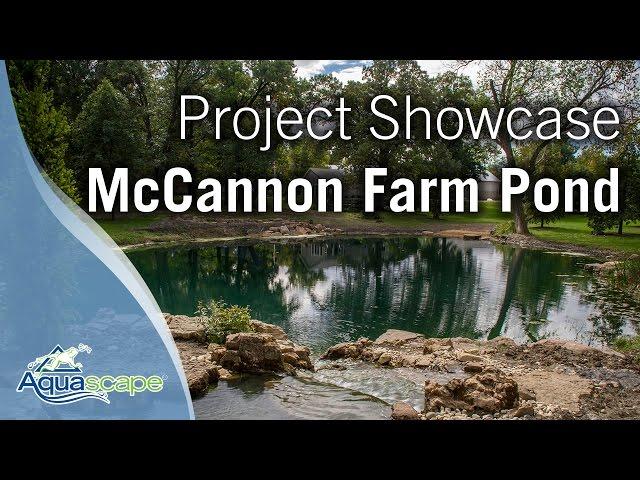 Aquascape Project Showcase - McCannon Farm Pond
