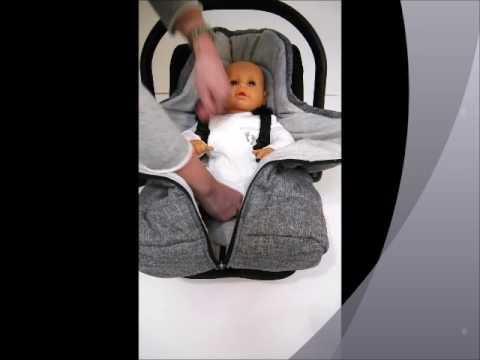 Gebrauchsanweisung für Babyschalenfußsäcke 65347, 65339,65388,65337,65358,65390,65338