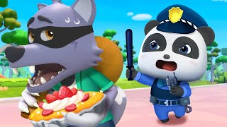 Who Took the Pie? | Police Cartoon | Five Senses | for kids | Nursery Rhymes | Kids Songs | BabyBus