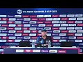 Pierre-De-Bruyn Namibia coach speaks after their victory over Ireland #T20WorldCup - Video