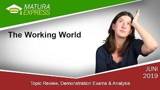 The Working World - Zentralmatura Englisch September 2019 #20