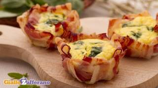 Eggs In Bacon Baskets - Quick Recipe