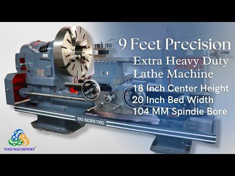 9 Feet Extra Heavy Duty Lathe Machine