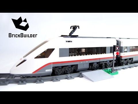 LEGO CITY 60051 High-speed Passenger Train Speed Build for Collecrors - Collection Trains (15/21)