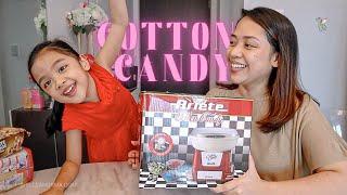 Unboxing Ariete Cotton Candy Machine / Vlogmas 11 // Elle x Kerrigan