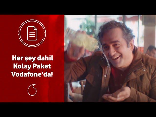 Her şey dahil Kolay Paket Vodafone'da!