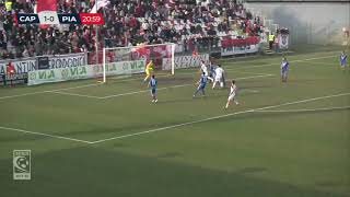 Carpi-Piacenza 3-0, highlights
