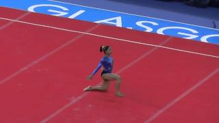 Dipa Karmakar (IND) - Floor - 2014 Commonwealth Games (All Around)