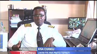 Kimasomaso: Kisa Changu - Captain Ian, Rubani na  pia mtia motisha