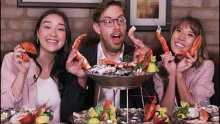 Eating $2000 Of Gourmet Seafood • The Food Babies