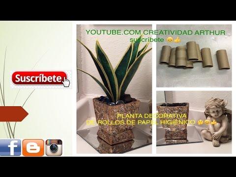 5 Ideas Con Rollos De Papel Higienico Manualidades - Decoracion-rollos-de-papel-higienico