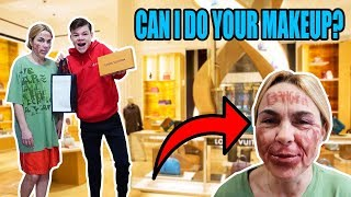 MY MOM SAID YES TO EVERYTHING FOR 24 HOURS! *BAD IDEA*