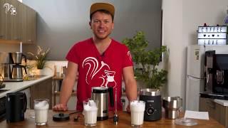 Milchaufschäumer im Test | Die besten Schaumschläger