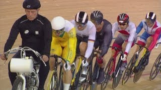 Men's Keirin - Second Round Heats | London 2012 Olympics