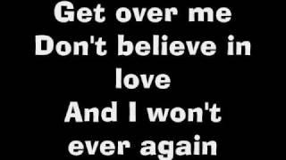 Fefe Dobson- Get Over Me