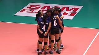 HL  SMM 12th Asian Est Cola Women's U17 Volleyball Championship / IND vs MAS - Video Youtube