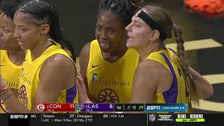 Connecticut Sun-Los Angeles Sparks. Semi Final Game 3. 22-09-19.