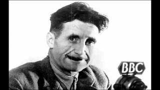 """George Orwell """"A Brief Virtual Discussion of 1984"""" Literary discussion animation"""