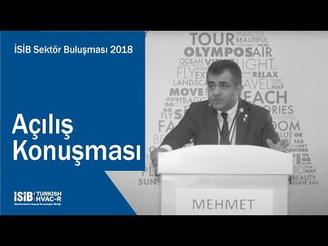 İSİB Sektör Buluşması 2018 – Açılış Konuşması