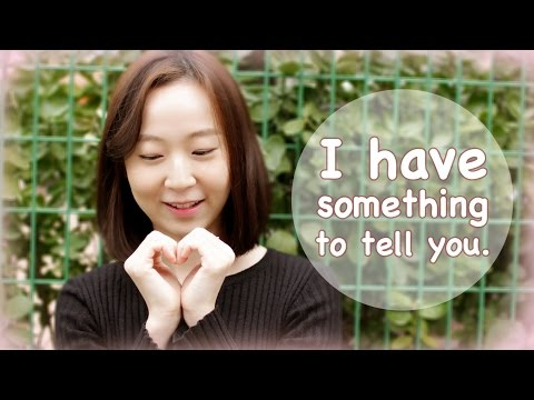 How To Confess Your Love In Korean