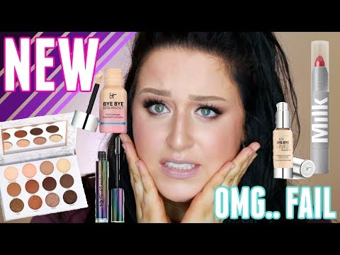 FULL FACE OF FIRST IMPRESSIONS | LOTS of Hits & Misses + Affordable Oval Brush Set?!