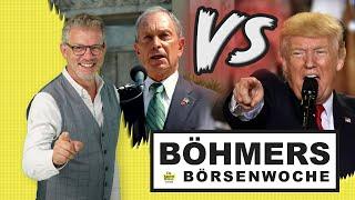 Vorwahlen USA: Trump vs. Bloomberg