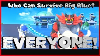 EVERYONE Can Survive Big Blue! - Super Smash Bros. Ultimate