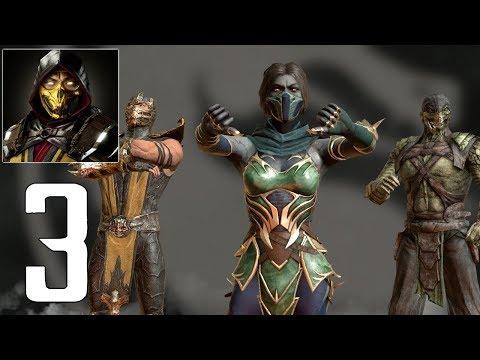 Mortal Kombat Mobile - Gameplay Walkthrough Part 3 - Jade MK11