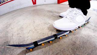 SKINNIEST SKATEBOARD IN THE WORLD. / You Must Skate It