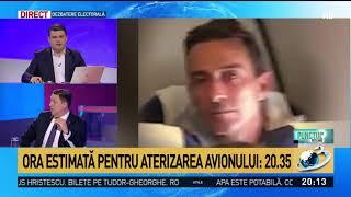 Avionul în Care Se Află Radu Mazăre Se îndreaptă Din Nou Către Otopeni. Ora Estimată De Ateri