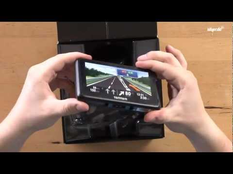 TomTom GO LIVE 1000 Europe - Unboxing & Review (deutsch)