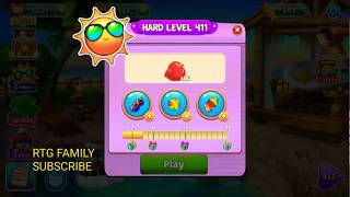 Lets play Meow match level 411 HARD LEVEL HD 1080P