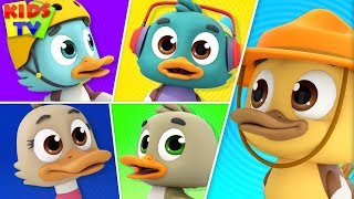 Five Little Ducks | The Supremes | Nursery Rhymes & Songs For Babies - Kidss TV