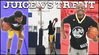 Juice Has NO LEGS... Can Trent Beat Him In 1v1 Basketball?!