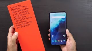 OnePlus 7T Pro Unboxing & Overview - Never Settled