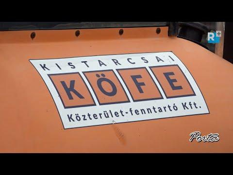 A pandémiás időszak alatt is aktív a városüzemeltetési feladatokat ellátó Kistarcsai KÖFE Kft.