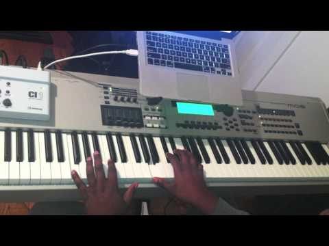 Gospel Piano Walking Bassline Tutorial