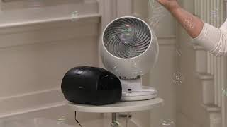 Woozoo Whole Room Oscillating Fan with Remote by Iris USA on QVC