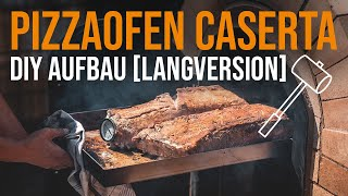 Pizzaofen Bausatz CASERTA | Aufbau im Zeitraffer (Langversion)
