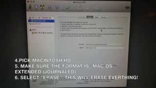 How to uninstall Mac OS Yosemite and revert to original OS-Mountain lion or Maverick
