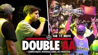 Aczino CAMPEÓN de la DOUBLE AA | INCIDENTE en CHUTY vs KAISER | FORCE vs ACZINO - POLÉMICA DECISIÓN