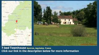 preview picture of video '7-bed Townhouse for Sale in Nontron, Aquitaine, France on frenchlife.biz'