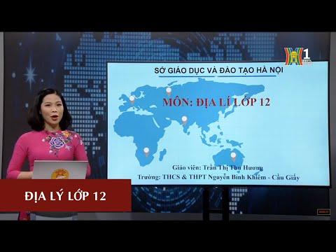 MÔN ĐỊA LÝ - LỚP 12 | BÀI 32: VẤN ĐỀ KHAI THÁC Ở TRUNG DU VÀ MIỀN NÚI BẮC BỘ | 16H00 NGÀY 13.04.2020 (HANOITV)