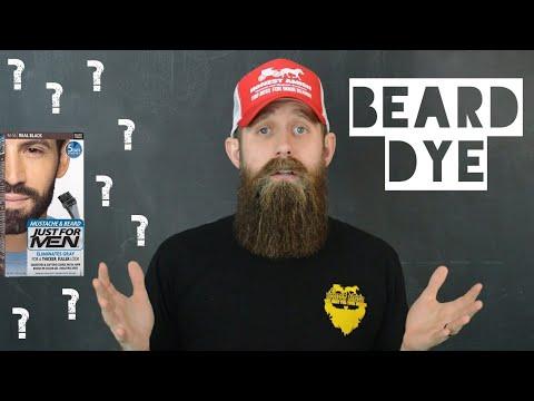 Should you DYE your beard?