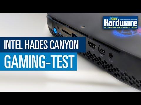 Intel Hades Canyon NUC mit i7 und Vega-Grafik im PCGH-Test