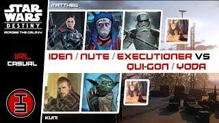 eIden & Nute & Executioner vs eQui-Gon & eYoda