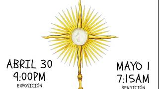 Desde La Ceja Antioquía: una vela al Santísimo con más de 300 participantes