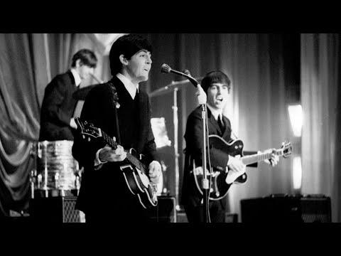הופעה חיה וקטעי ארכיון של להקת החיפושיות משנת 1964