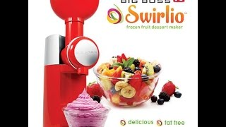 Swirlio As Seen On TV Frozen Dessert Maker As Seen On TV Swirlio Commercial